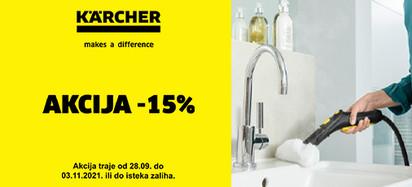karcher akcija jesen -15 posto