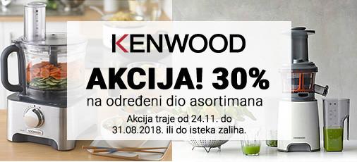 kenwood 30 posto popusta akcija