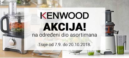kenwood akcija odredeni dio asortimana
