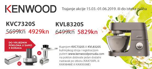kenwood kuh.strojevi i poklon akcija