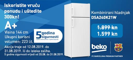 kombinirani hladnjak dsa240k21w