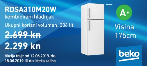 kombinirani hladnjak rdsa310m20w