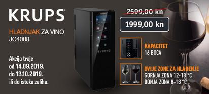Krups - akcija vinski hladnjak JC4008