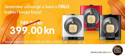Krups - Dolce gusto Oblo akcija listopad
