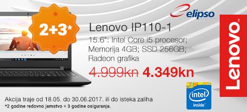 Lenovo Akcija 110 1 Lipanj 2017