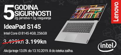 Lenovo Akcija IP S145 138615 Rujan 2019