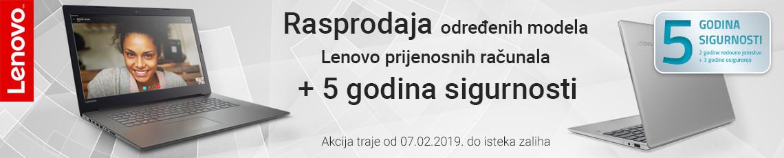 lenovo notebook rasprodaja veljaca 2019