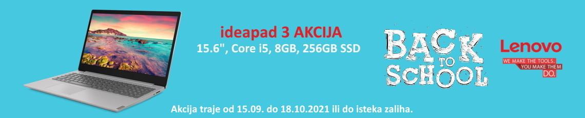 Lenovo - Akcija ip3 B2S 2021