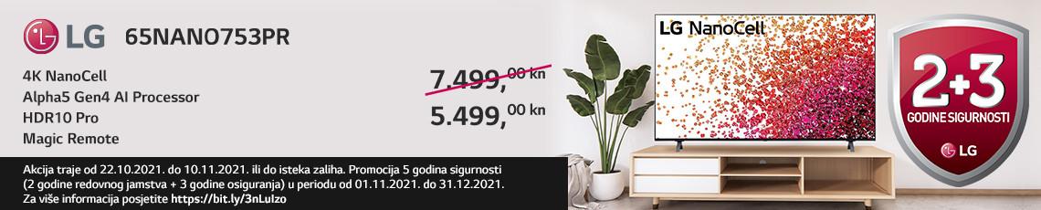 LG 65NANO753PR Akcija Jesen 2021