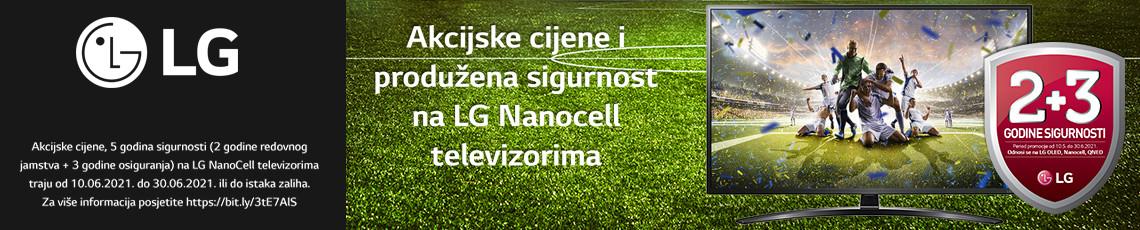 LG Nanocell Televizori Akcija Lipanj