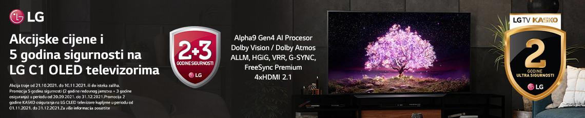 LG OLED C1 serija Akcija Jesen 2021