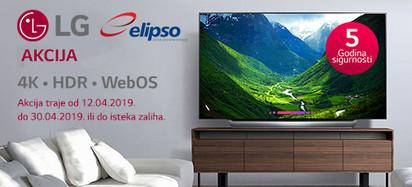 LG Televizori Akcija Travanj 2019