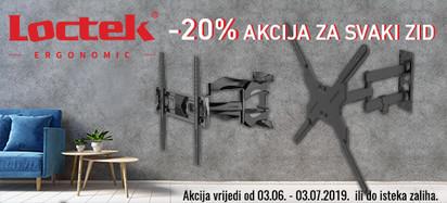 Loctek -20 posto akcija u Elipsu