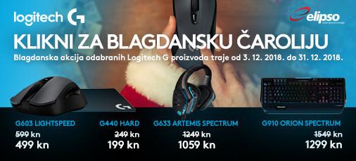 logitech akcija gaming prosinac 2018