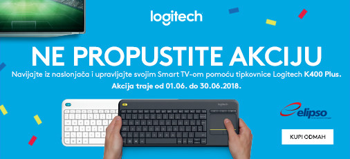 Logitech Akcija K400 lipanj 2018