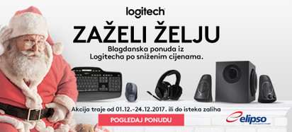 logitech akcija prosinac 2017