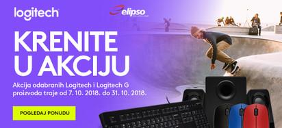 Logitech Listopad Akcija 2018