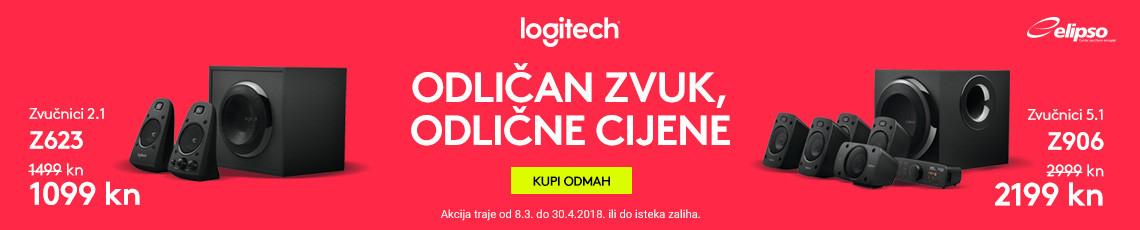 Logitech Zvučnici Akcija ožujak 2018