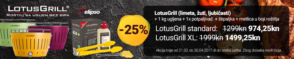lotusgrill 25 posto akcija ožujak