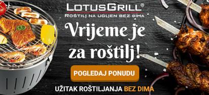 Lotusgrill vrijeme za roštiljanje