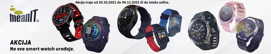 MEANIT Akcija Smartwatch Listopad