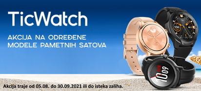 mobvoi ticwatch akcija kolovoz 2021
