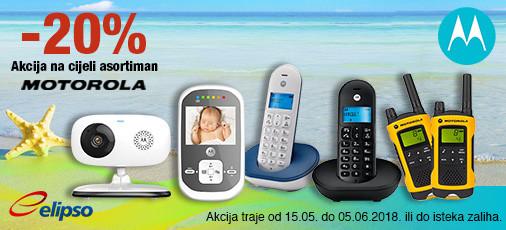 Motorola -20 posto akcija