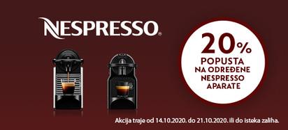 nespresso akcija listopad
