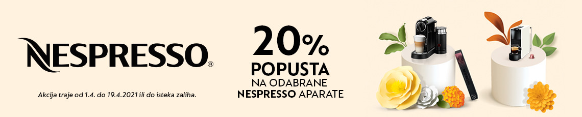 nespresso akcija travanj