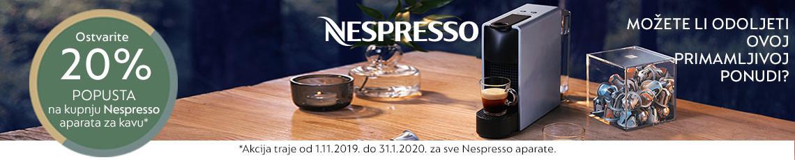 nespresso aparati za kavu akcija
