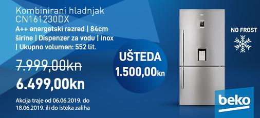 nofrost hladnjak cn161230dx, lipanj 2019