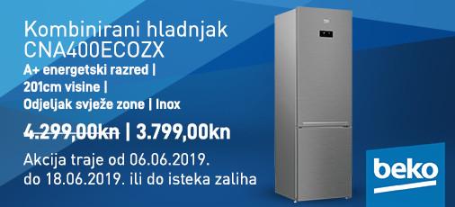 nofrost hladnjak cna400ec0zx lipanj