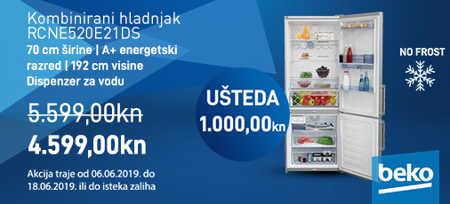 nofrost hladnjak rcne520e21ds