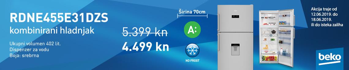 nofrost hladnjak rdne455e31dzs