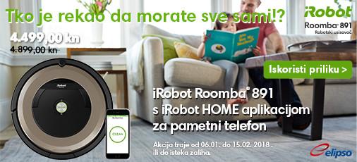 Novo u ponudi Roomba 891