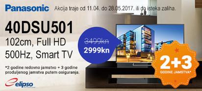 Panasonic 40DSU501 akcija 2017