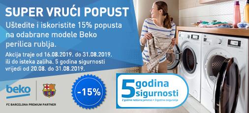 perilice rublja - akcija ljeto 2019