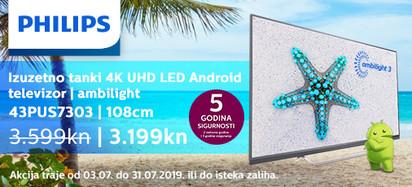 Philips 43PUS7303 Akcija Srpanj 2019