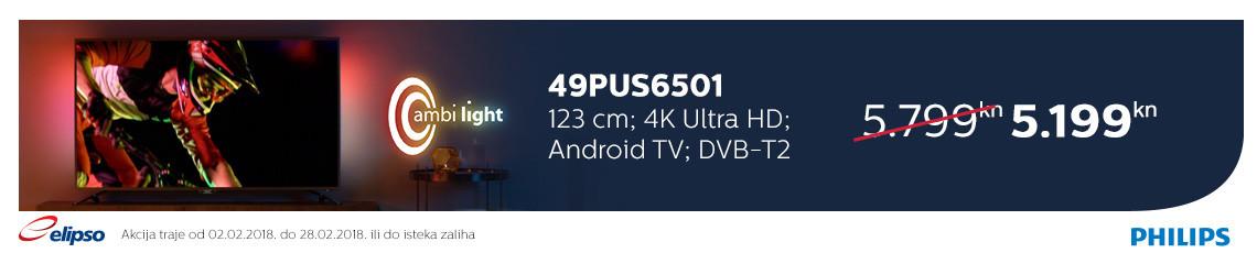 philips 49pus6501 akcija 2018