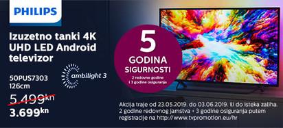 Philips 50PUS7303 Akcija Svibanj 2019