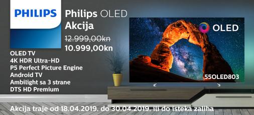 philips 55oled803 akcija 2019