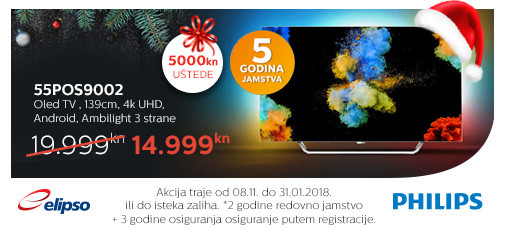 philips 55pos9002 akcija 2017