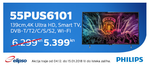 philips 55pus6101 akcija 2017