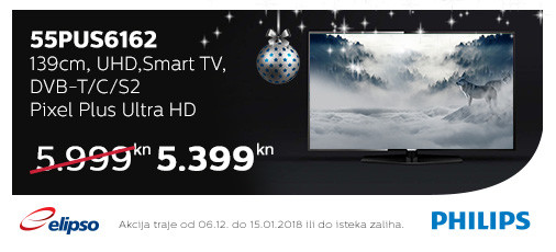 philips 55pus6162 akcija 2017