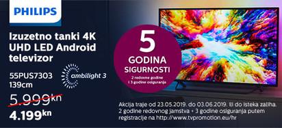 Philips 55PUS7303 Akcija Svibanj 2019
