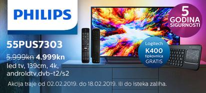 philips 55pus7303 akcija veljača 2019