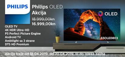 philips 65oled803 akcija 2019