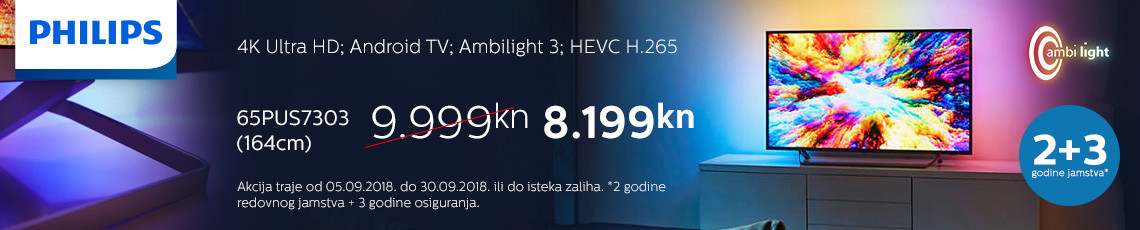 philips 65pus7303 akcija 2018