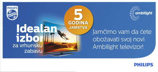 philips ambilight 5 godina jamstva