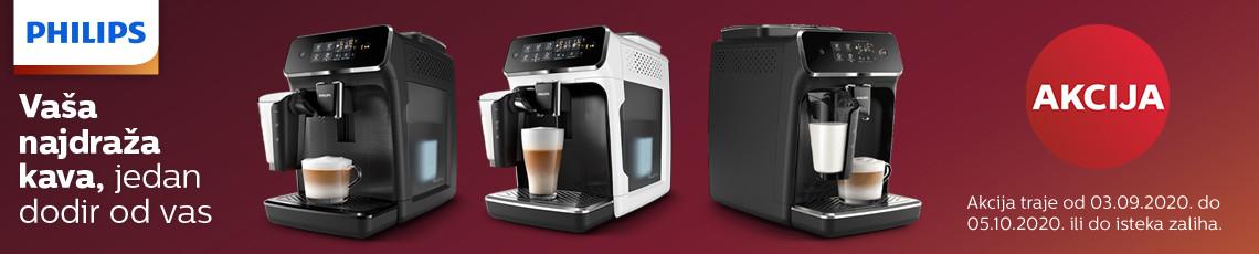 Philips aparati za kavu akcija rujan